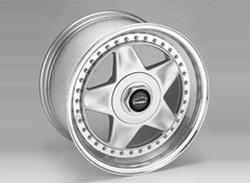 Диски литые R17 легкосплавные серебристые в стиле LM-Rad Stern-Design для Opel Calibra и Opel Vectra A