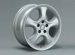 Диски литые R17 легкосплавные серебристые дизайн Softstern-Design для Opel Astra H