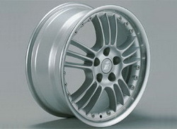 Диски литые R17 легкосплавные серебристые дизайн Spectra Sports Line-Design для Opel Astra H, Opel Vectra C, Opel Zafira B