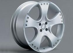 Диски литые R17 легкосплавные серебристые дизайн Sport Star-Design для Opel Astra H, Opel Corsa D