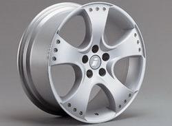 Диски литые R18 легкосплавные серебристые дизайн Sport Star-Design для Opel Vectra C