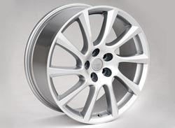 Диски литые R18 легкосплавные серебристые дизайн Turbo Star exclusiv-Design для Opel Astra J c бензиновыми двигателями 1,6T л, дизельными двигателями 1,7 л и 2,0 л
