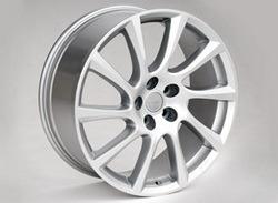 Диски литые R18 легкосплавные серебристые дизайн Turbo Star exclusiv-Design для Opel Insignia