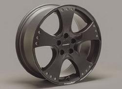 Диски литые R18 легкосплавные черные дизайн Sport Star-Design ``Black Attack`` для Opel Astra H, Opel Vectra C, Opel Zafira B