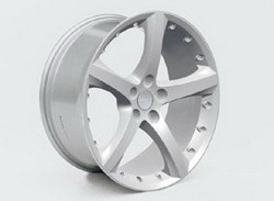 Диски литые R19 легкосплавные серебристые дизайн Opel GT Star-Design для Opel Astra H, Opel Vectra C, Opel Zafira B