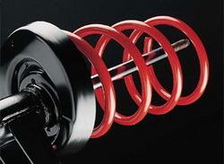 Комплект подвески Opel Tigra с занижением до 25 мм при нагрузке до 865/680 кг