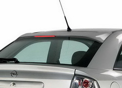 Накладка на стекло Opel Astra G с третьим дополнительным стоп-сигналом