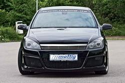 Решетка радиатора Opel Astra H в стиле Chrom-Look