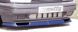 Накладка на бампер передний Opel Omega A (Тип A)