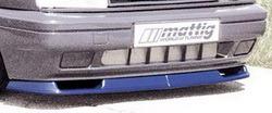 Накладка на бампер передний Opel Vectra A (Тип A)