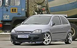 Накладка на бампер передний Opel Corsa C (Тип E)