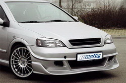 Бампер передний Opel Astra G в стиле Race-Look