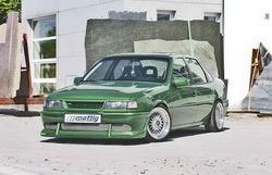 Бампер передний Opel Vectra A в стиле Sport-Look