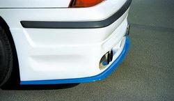 Диффузор в бампер задний Opel Calibra