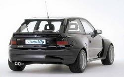 Бампер задний Opel Astra F в стиле Extrem