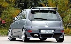 Бампер задний Opel Corsa C