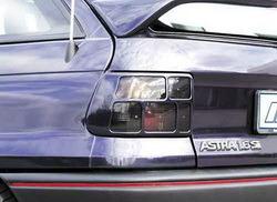 Накладки на фонари Opel Astra F в стиле Carbon-Look
