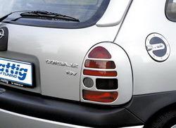 Накладки на фонари Opel Corsa B