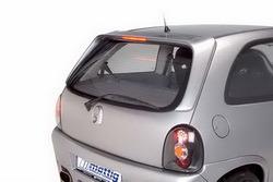 Накладка на стекло Opel Corsa B с третьим дополнительным стоп-сигналом