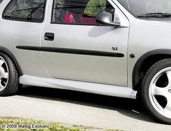 Пороги Opel Corsa B