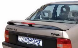 Спойлер задний Opel Vectra A с третьим дополнительным стоп-сигналом