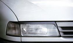 Реснички на фары Opel Vectra A