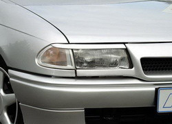 Реснички на фары Opel Astra F