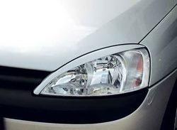 Реснички на фары Opel Corsa C в стиле Carbon-Look