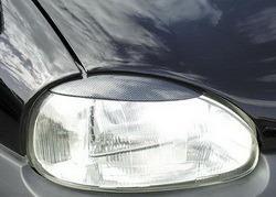 Реснички на фары Opel Corsa B в стиле Carbon-Look