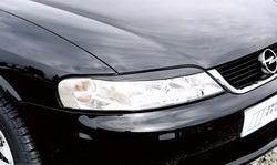 Реснички на фары Opel Vectra B
