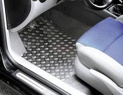 Накладки на пороги Opel Vectra A передние алюминевые