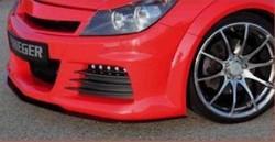 Бампер передний Opel Astra H для автомобилей автомобилей с омывателями фар и со светодиодными фарами