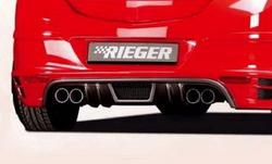 Глушитель Opel Astra H на две стороны с четырьмя насадками к двигателям 1,7l CDTI 59kW 1,7l CDTI 74kW 1,9 CDTI 88kW 1,9 CDTI 110kW