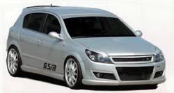 Решетка радиатора Opel Astra H