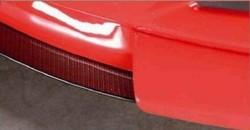 Сплиттер для накладки на бампер передний Opel Astra H GTC в стиле Carbon-Look