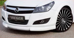 Сплиттер для накладки на бампер передний Opel Astra H Хэтчбек, Универсал