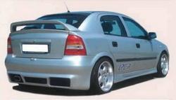 Спойлер задний Opel Astra G