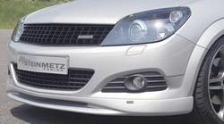 Накладка на бампер передний Opel Astra H GTC