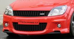 Накладка на бампер передний Opel Astra H GTC OPC