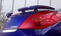 Спойлер задний Opel Tigra из двух составляющих