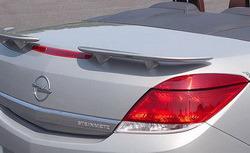 Спойлер задний Opel Astra H Twin Top из двух составляющих
