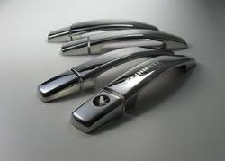 Накладки на дверные ручки Opel Astra H, Opel Astra J, Opel Corsa D, Opel Opel Insignia, Opel Mokka, Opel Zafira B, Opel Zafira Tourer из хромированной высококачественной стали