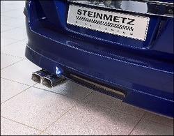 Глушитель Opel Tigra со сдвоенной насадкой к моторам 1,4, 1,6, 1,8, 1,7 CDTI, 1.9 CDTI и 2.0 Turbo (125 kW)