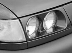 Накладки на фары Opel Vectra A