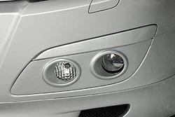 Воздухозаборники Opel Astra H в стиле GT