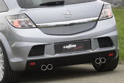 Бампер задний Opel Astra H в стиле GTC/R