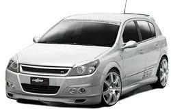 Обвес на Opel Astra H 5-ти дверная в стиле GT от компании Lumma