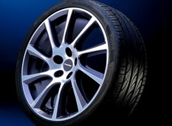 Шины летние Vredestein Sessanta 245 / 40 R20 99Y с литыми дисками Irmsher в стиле Turbo-Star Exclusiv Design 8 x 20 ET 40 для Opel Antara