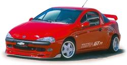 Обвес на Opel Tigra в стиле GT/F1 от компании Lumma