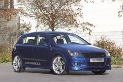 Обвес на Opel Astra H Хэтчбек (дорестайлинг) от компании Steinmetz